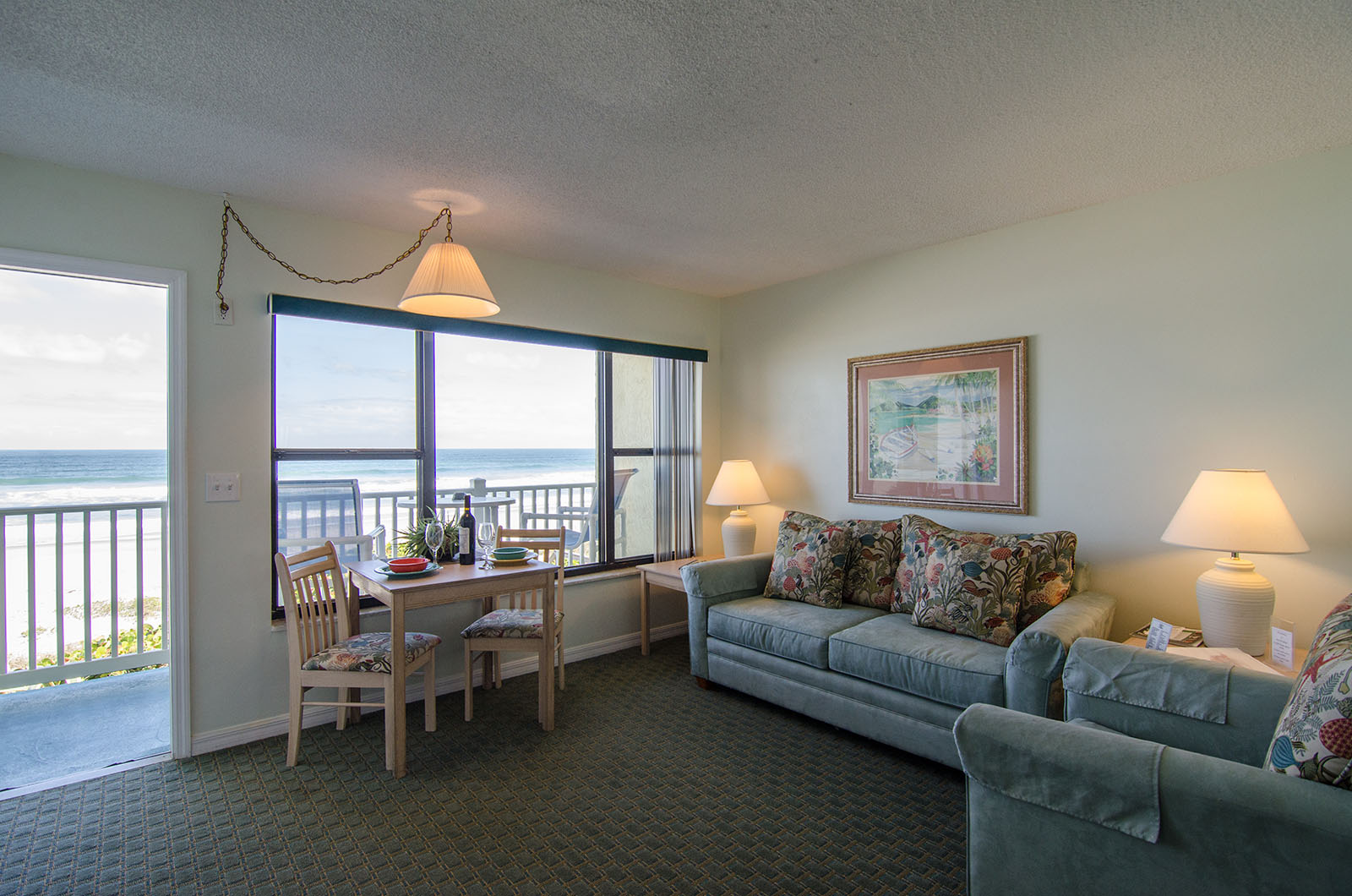 Separate living rooms at Tuckaway Shores Suites