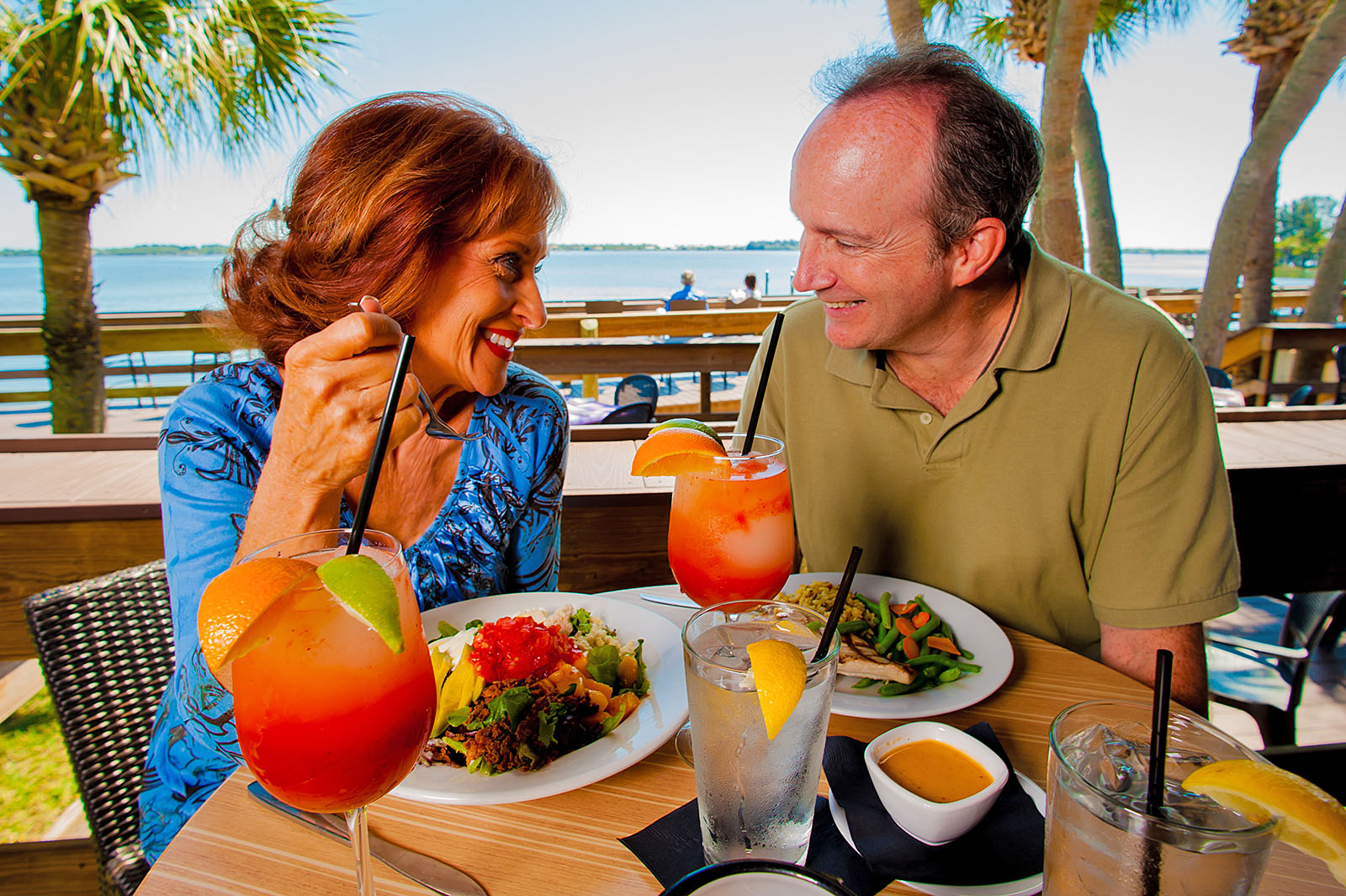 Couple at our Florida Oceanfront Resort in Melbourne, Florida