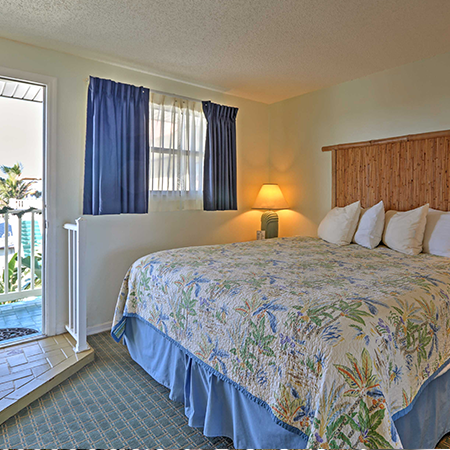 Resort room at Tuckaway Shores in Melbourned Florida