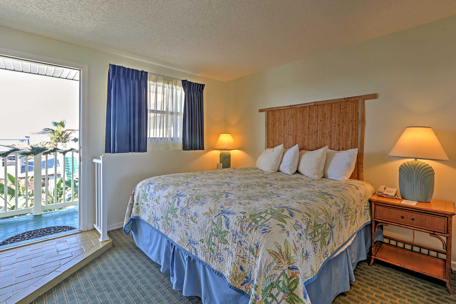 Resort bedroom at Tuckaway Shores
